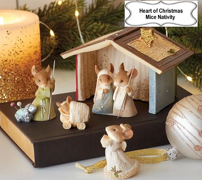 heart of christmas mice by karen hahn from enesco
